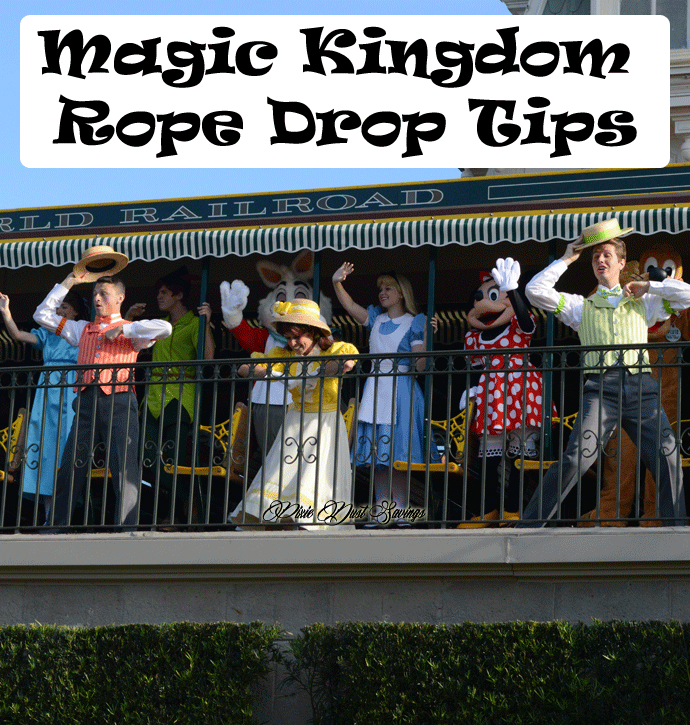 Magic Kingdom Rope Drop Tips