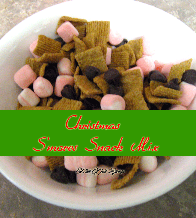 Christmas-S'mores-Snack-Mix