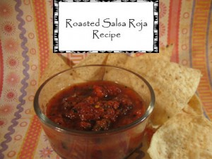 Roasted Salsa Roja