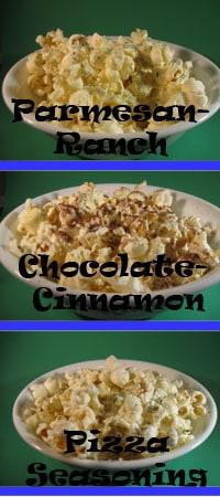 mikes popcorn trio