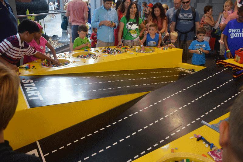 Build Your Own Race Car Downtown Disney