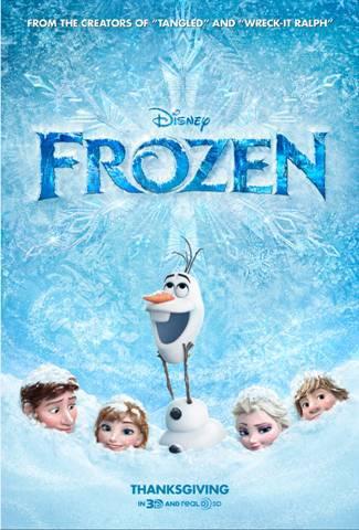 frozen poster 9-17