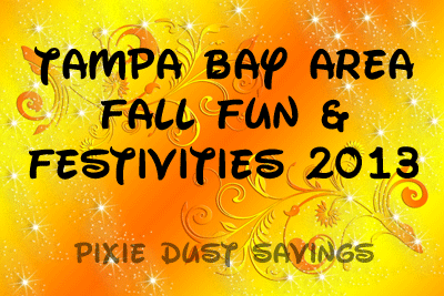 Tampa Bay Area Fall Fun & Festivities 2013