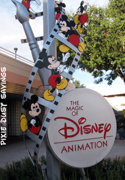 The Magic of Disney Animation Building in Hollywood Studios