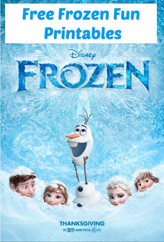 Frozen-Fun-Printables