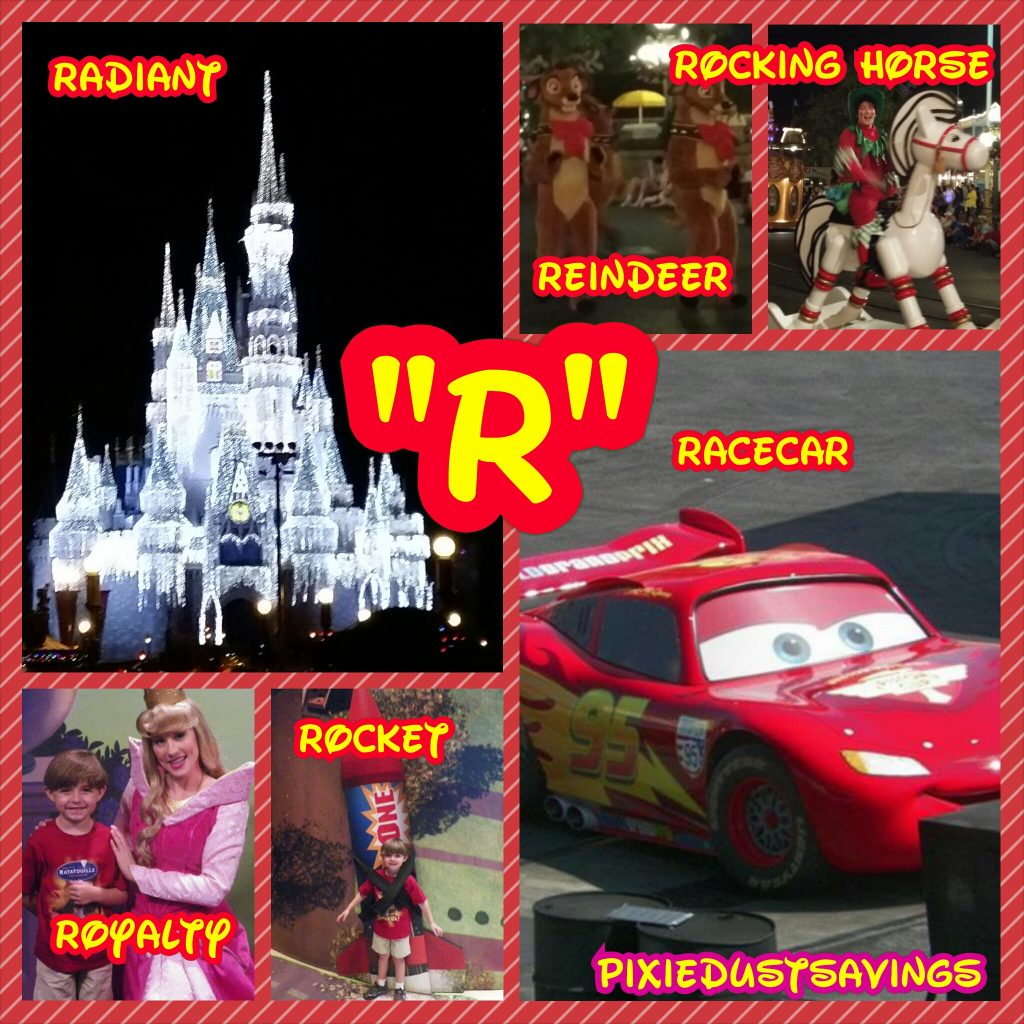 "Wordless Wednesday – ""R"" Disney Words"