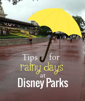 What To Do When It Rains in Disney