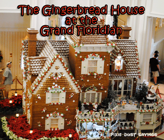 The Gingerbread House at Disney's Grand Floridian Resort