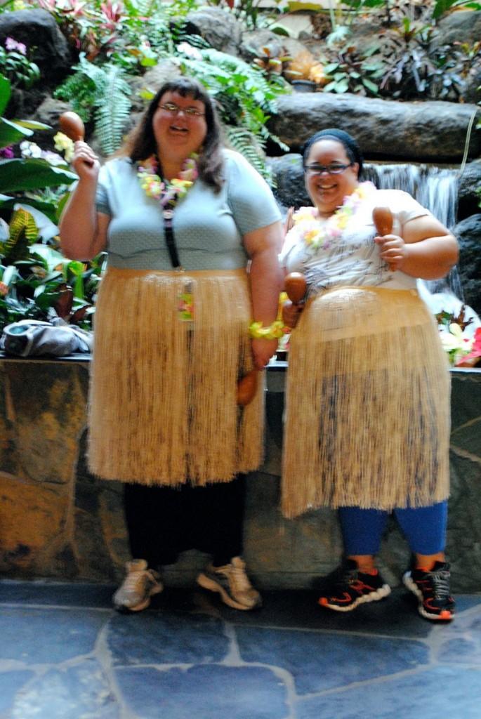 Hula Dance Lesson at Disney's Polynesian Resort