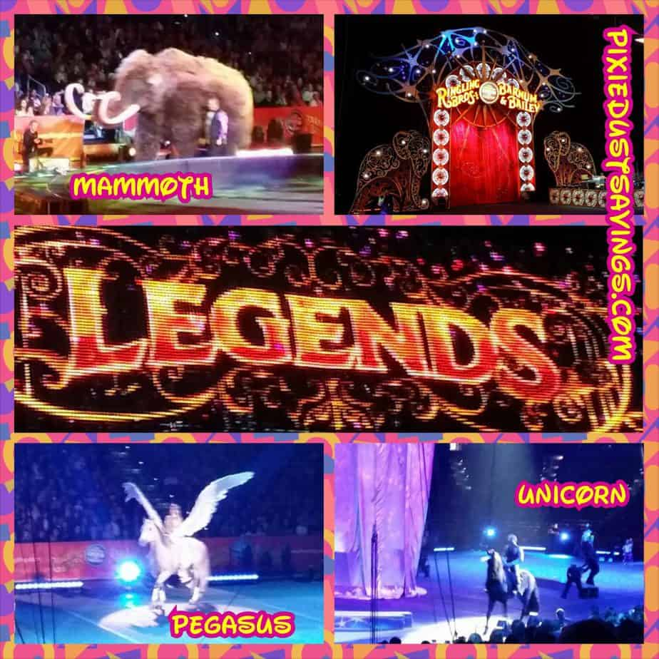 Ringling Brothers and Barnum & Bailey Presents: LEGENDS Review
