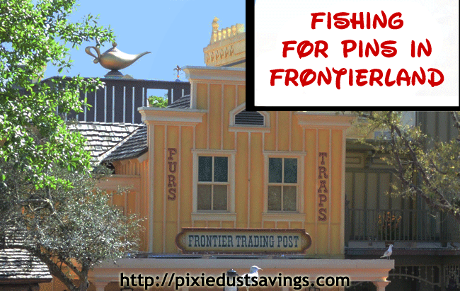 Fishing for Pins in Frontierland