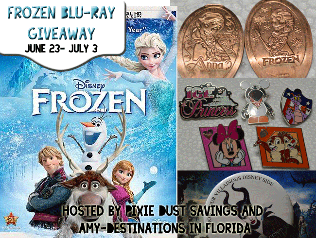 Frozen Blu- Ray Giveaway