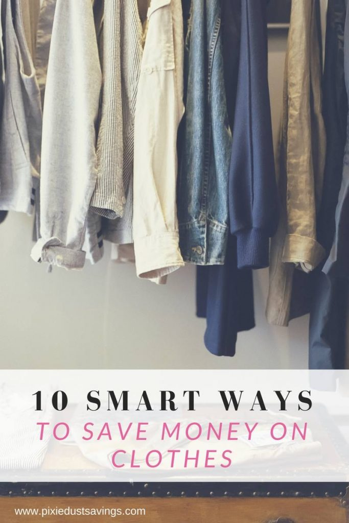 Ways to Save on Clothes