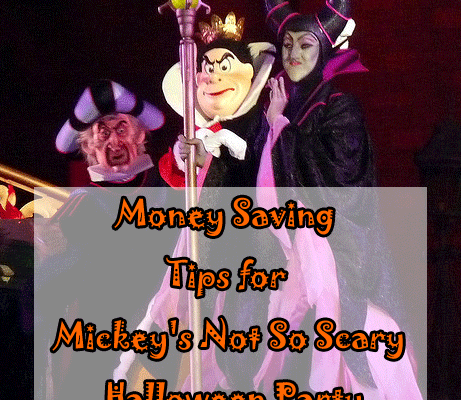 Money Saving Tips for Mickey's Not So Scary Halloween Party