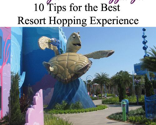 10 Disney Resort Hopping Tips