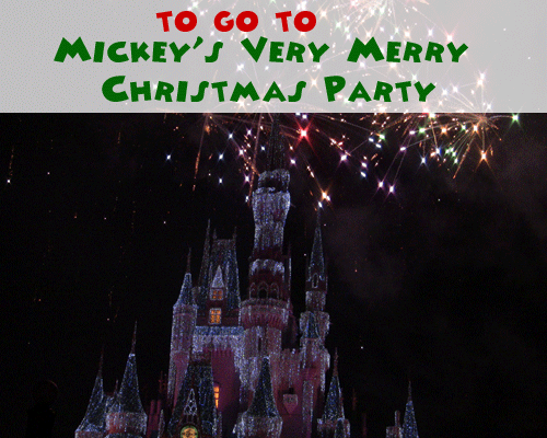 Top 3 Reasons to Visit Mickey's Very Merry Christmas Party