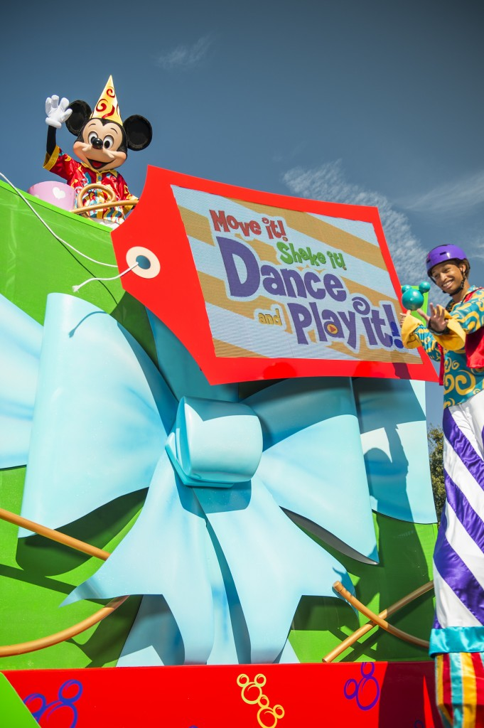 ÒMove It! Shake It! Dance & Play It!Ó Street Party to Debut at Magic Kingdom