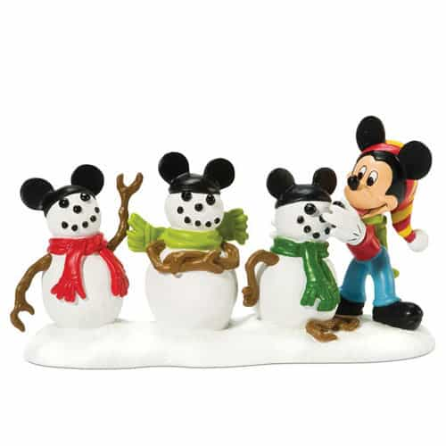 mickey and his snowmen mouseketeers