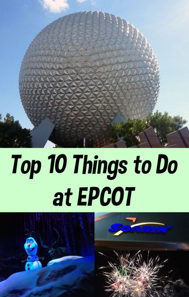 must do Experiences at Epcot
