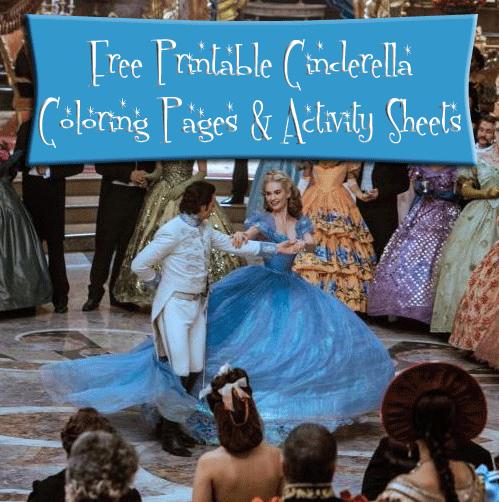 cinderella-activity-pages