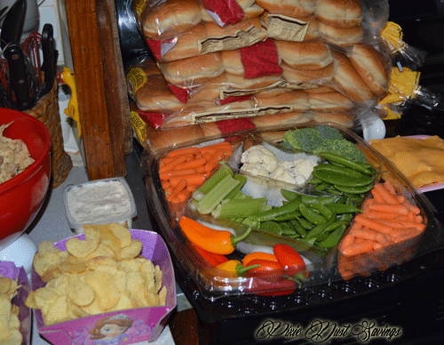 disneyside-party-food