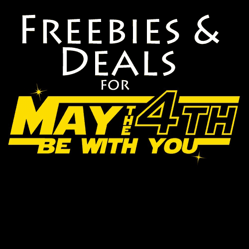 May the 4th Be With You- Star Wars Day Deals