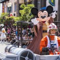 "The Power of the Force and the Magic of Disney combine for a Star WarsÊfan-fest like no other each year during Star Wars Weekends at Disney's Hollywood Studios at Walt Disney World Resort in Lake Buena Vista, Fla. ÊThe event features more than 60 officialÊStar Wars characters roaming the theme park; Disney pals dressed like their favorite Star WarsÊcharacters; a Star Wars motorcade;Êcelebrity appearances; live entertainment; limited-edition merchandise; special editions of Jedi Training Academy and the ""Symphony in the Stars"" nighttime fireworks spectacular. ÊTaking place on select Fridays, Saturdays and Sundays in May and June, mostÊStar Wars Weekends event activities are included in regular theme park admission. (Matt Stroshane, photographer)"