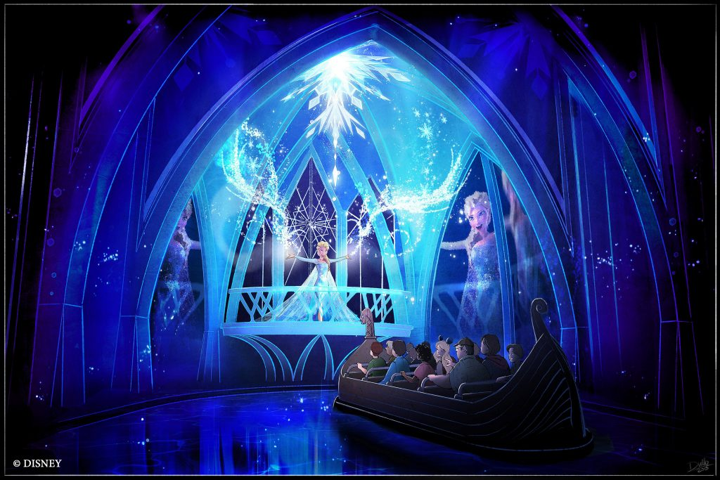 Frozen Ever After Adventure Ride