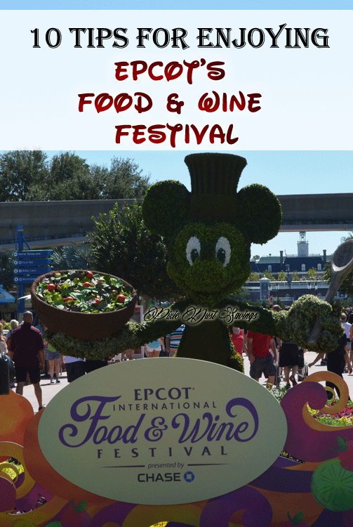 10 Tips for Enjoying EPCOT's Food & Wine Festival