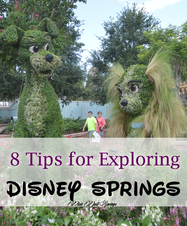 8 Tips for Exploring Disney Springs