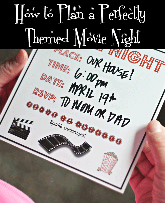 How to Plan a Themed Movie Night