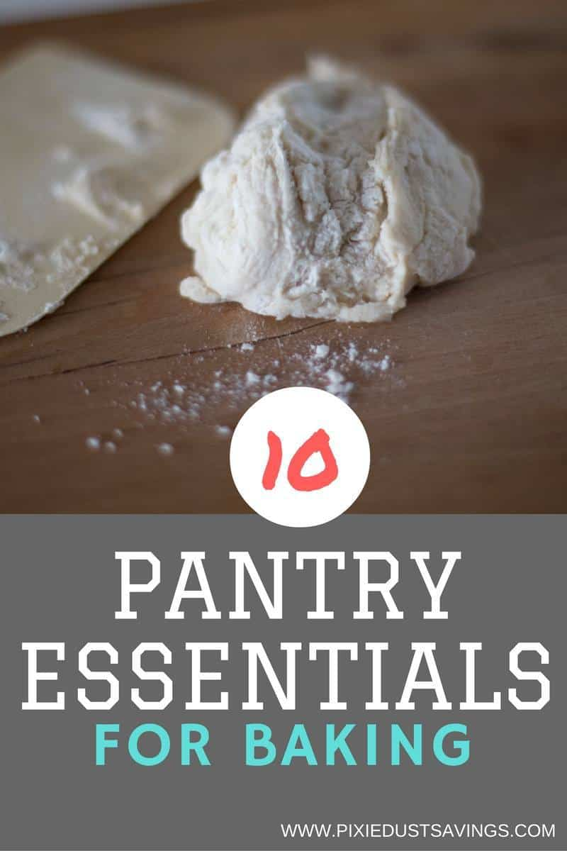 10 Pantry Essentials for Baking