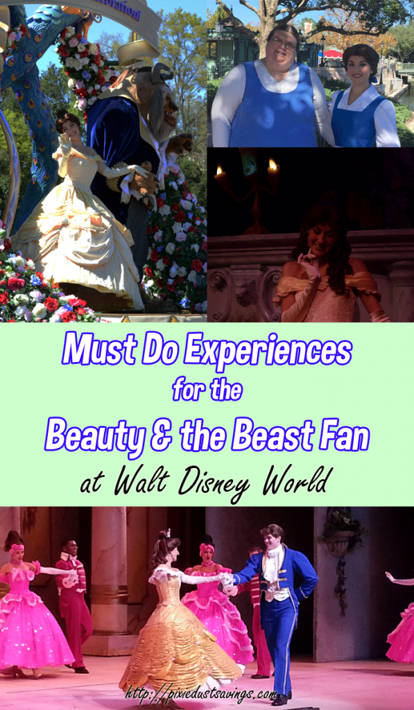 Must Do Experiences for the Beauty and the Beast Fan