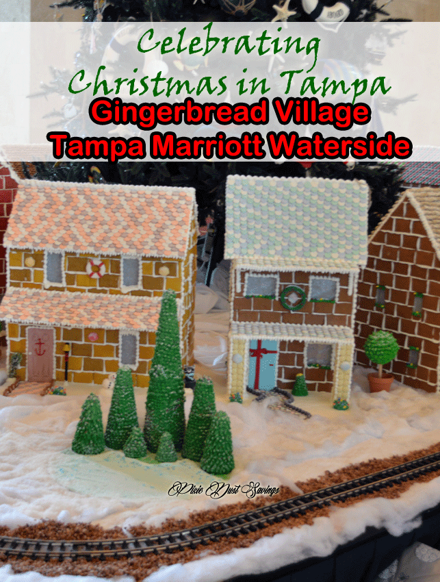 Celebrate Christmas: Tampa Marriott Waterside Hotel & Marina