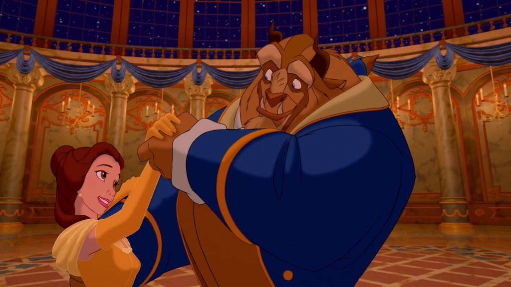 Beauty-and-the-beast-romantic disney movie