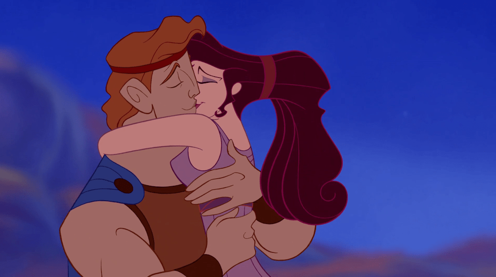 Hercules-romantic disney movie