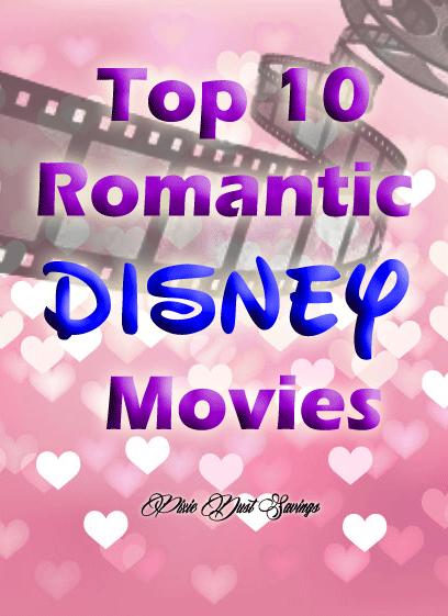 Top 10 Romantic Disney Movies