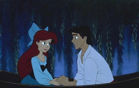 little mermaid romantic disney movie