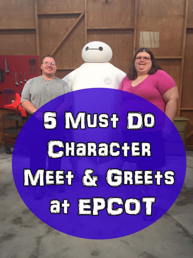 5 Must Do Character Meet & Greets at EPCOT