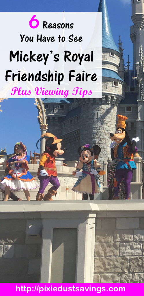 6 Reasons You Have to See Mickey's Royal Friendship Faire