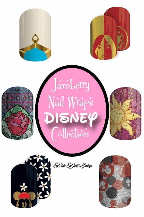 Jamberry Nail Wraps & Disney -