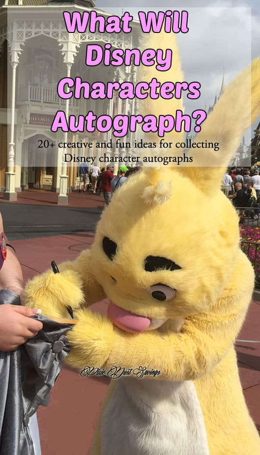 What Will Disney Characters Autograph?  20+ Creative Ideas