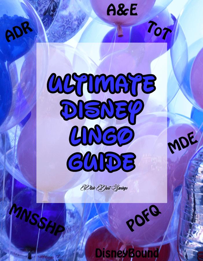 Disney Lingo