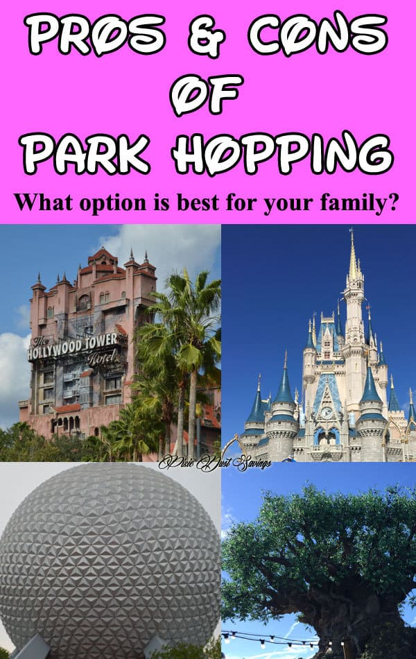 Pros and Cons of Park Hopping