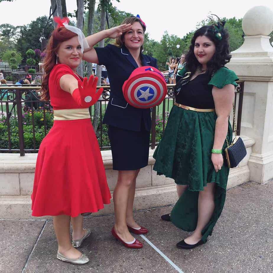 Avengers Themed Dapper Day Looks