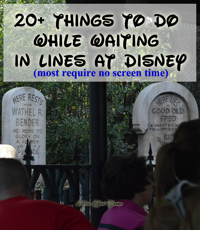 Things To Do While Waiting in Line