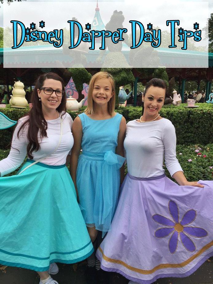 Disney Dapper Day Tips   All Dressed Up at Disney World