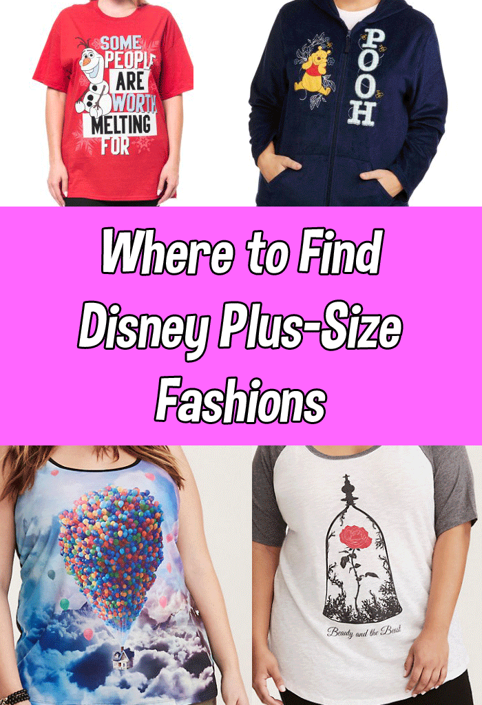 Plus Size Disney Clothes