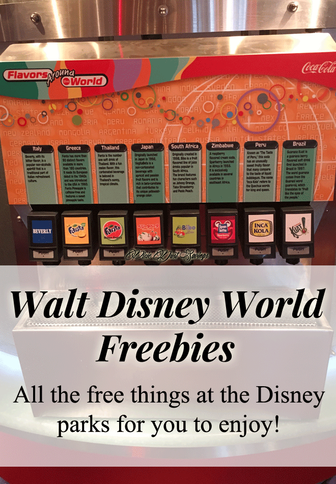 Doing Disney on a Budget | Disney Park Freebies