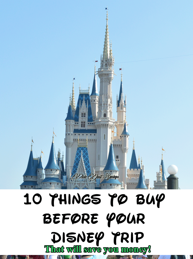 10 Things to Buy Before Your Disney Trip